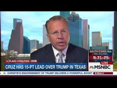Ron Nehring on MSNBC | February 27, 2016 | Ted Cruz for President - YouTube