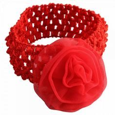 With special decorative design, this product is extremely attractive and beautiful Bright color makes your baby lovely and pretty Made of good material, they are soft and comfortable Fashion stretchy headband/ hair band Fancy design with good quality Suitable for any occasion  Specifications Color	Red Material	Cotton Size	Free size ( Elastic ) Age	1 -5 years old Weight	10g / 0.35 oz  Package Includes 1 x Baby Hair Rose Flowers Headband for Baby Red  From HK  RM13 each PRE ORDER now..