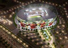 Soccer stadium for FIFA world cup Qatar 2022