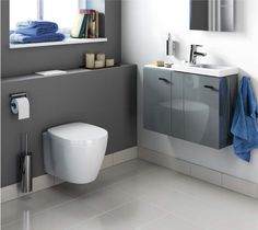 ‹Connect Space› by ‹Ideal Standard›: efficient use of space.