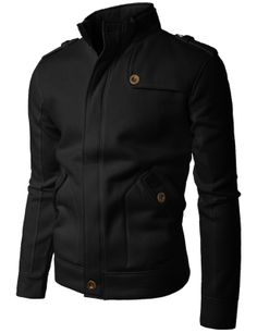 #Mens fashion Mens Shoulder strap Zipup jacket (STRAP)