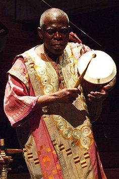 Obo Addy (January 15, 1936 – September 13, 2012) was a Ghanaian drummer and dancer who was one of the first native African musicians to bring the fusion of traditional folk music and Western pop music known as worldbeat to Europe and then to the Pacific Northwest of the United States in the late 1970s. He taught music at Lewis & Clark College in Portland, Oregon.