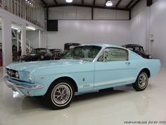 DANIEL SCHMITT & CO CLASSIC CAR GALLERY PRESENTS: 1965 FORD MUSTANG FASTBACK