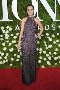 Cristina Ottaviano at the 2017 Tony Awards #2017 #Tonys #Awards