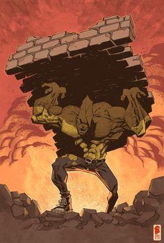 Dragon by nelsondaniel on DeviantArt Comic Book Artists, Comic Books, Character Concept, Concept Art, Savage Dragon, Comic Art Community, Image Comics, Digital Illustration, Beast