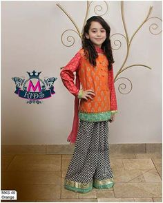 Maria B Latest Dresses Collection 2014 Eid Dresses Collection For Girls And Kids By Maria B