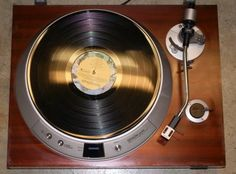 Denon - DP-series turntable... still spinning strong. Click on photo for more pics and story.