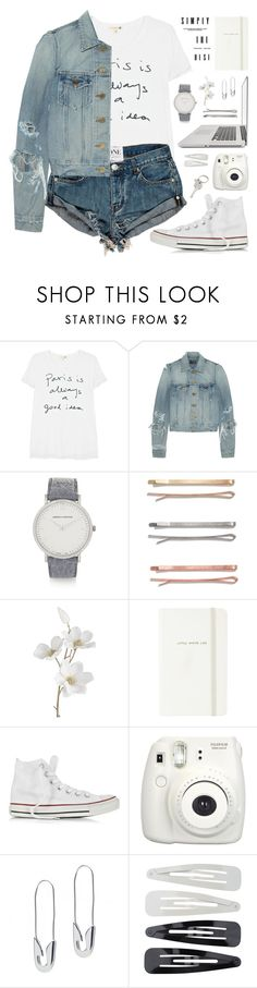 """""""A Court of Thorns and Roses"""" by alexandra-provenzano ❤ liked on Polyvore featuring Sundry, Yves Saint Laurent, Larsson & Jennings, Madewell, Pier 1 Imports, Kate Spade, Converse, Fujifilm, Tom Binns and Forever 21"""