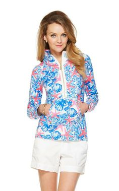 Lilly Pulitzer Skipper Printed Popover in She She Shells