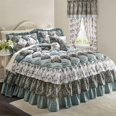 Alexis Puff Top Printed Bedspread & More Any individual can produce a residence sweet residence, even when the price range is tight. Bedspreads Comforters, Quilted Bedspreads, Chenille Bedspread, Bed Cover Design, Indoor Outdoor Furniture, Bed Styling, Beautiful Bedrooms, Bed Covers, Soft Furnishings