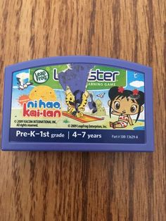 Leapster Leapfrog Ni Hao Kai-lan Video Game Pre K 1 First Grade Nickelodeon  #LeapFrog