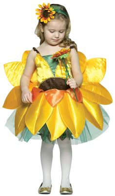 Sunflower Toddler / Child Costume from CostumeExpress.com