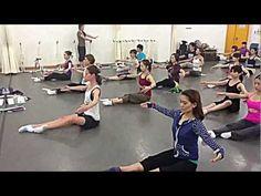 Stephane Dalle: Floor Barre / Barre à Terre / Barre Sol / Floor Exercises - YouTube