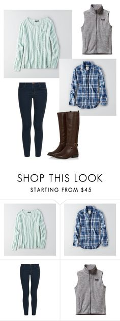 """""""Untitled #94"""" by lolocan on Polyvore featuring American Eagle Outfitters, J Brand and Patagonia"""