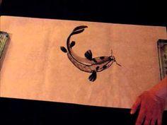 Ogawa Ryu Sumi-e Koi - by Rebeca Roca Koi, Watercolor Paintings, Moose Art, Japanese, Fish, Chinese, Animals, Youtube, Animales