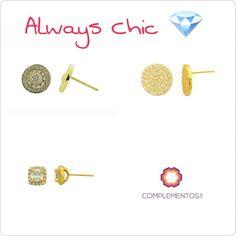 Unos aretes pequeños y delicados Diversidad de accesorios en plata 925 laminado en oro 18k ó rodio Contactanos : 809 853 3250 / 809 405 5555 Pagos a través de Paypal Envoltura disponible #newarrivals #available #silver #earrings #glam #shine #accesories #byou #becomplete