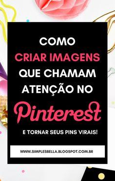 Confira 4 regras básicas de um Pin perfeito para o Pinterest que você precisa ter em mente na hora de criar suas imagens para, então, tornar seus Pins virais. Acesse o post e saiba Como criar imagens perfeitas para o Pinterest em poucos minutos com uma ferramenta grátis! #PinterestDicas #Pinteresttips #pinsvirais #PinterestMarketing #Dicasparablogueiras #blogging