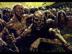 Zombies are shambling horrors that are used extensively by the Vampire Counts and other Undead. Dungeons And Dragons, Photo Posters, Zombie Art, Painting, Creepy, Art, Plague, Vampire Counts, Warhammer Art