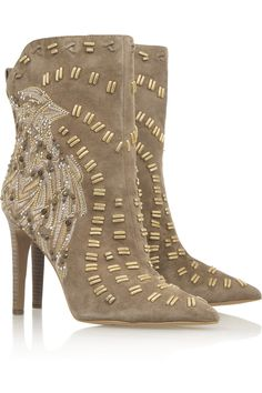 Sam EdelmanMelin a embellished suede ankle boots