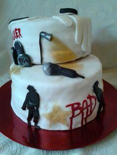 Tarek's Michael Jackson Bday Cake (2015) #MichaelJacksonCake