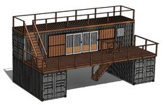 We are the premiere provider of custom container homes. Using 20 & 40 ft contain… We are the premiere provider of custom container homes. Using 20 & 40 ft containers, we provide unique, modern, durable, & cost-effective homes. Container Architecture, Container Buildings, Sustainable Architecture, Contemporary Architecture, Residential Architecture, Building A Container Home, Storage Container Homes, Storage Containers, 40ft Container
