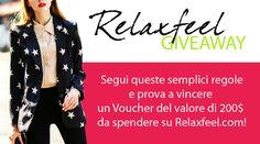 Amemipiacecosi Fashion Blog: Relaxfeel GIVEAWAY