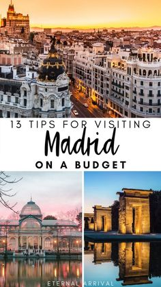 Planning to visit Madrid, but have a tight budget? This guide to visiting Madrid on a budget includes tips for where to eat in Madrid cheaply, where to stay in Madrid, free and cheap things to do in Madrid, and other essential Madrid travel tips. Portugal Travel, Spain And Portugal, Spain Travel, Italy Travel, Cities In Europe, Europe Destinations, Europe Travel Guide, Budget Travel, Travel Guides