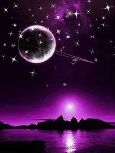 Purple Sky on Pinterest | Sky, Purple Sunset and Sunsets