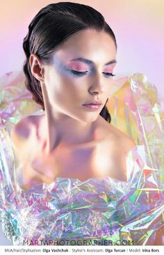 Iridescent editorial, www.martaphotographer.com, opalising, shiny, sparkling, pastel, luminous, beauty.