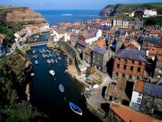 I loved Whitby, North Yorkshire, what a pretty place to visit.