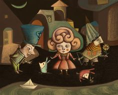 Natalia Jankowski: Puppets (Acto I) Puppets, Bowser, Tapas, Illustration, Painting, Fictional Characters, Puppet, Buenos Aires Argentina, Illustrations