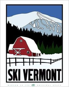 Don T Forget To Vote On Ski Vermont Poster Contest