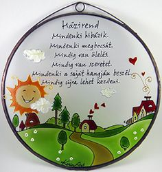 Wooden House Decoration, Diy And Crafts, Decorative Plates, Life Quotes, Classroom, Thoughts, Education, Day, Gifts