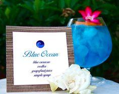 @brandonLauren Massey.  Signature Drink: Blue Ocean Cocktail