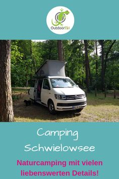 Camping Schwielowsee: lovely natural campsite in a fantastic location - Camping Schwielowsee: lovely natural campsite in a fantastic location. We have never seen such lovi - Camping Am See, Camping And Hiking, Outdoor Camping, Roadtrip Tips, Hiking Tips, Travel Tips, Camping Hacks, Road Trip Hacks, Acevedo