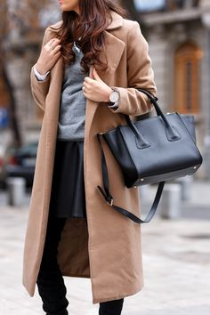 I was wearing: Missguided coat, Asos: sweater, Asos: white shirt, Sheinside leather skirt, Jessica Buurman: over the knee boots, Jadu: leather bag, Daniel Wellington: watch