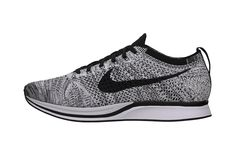 Just in time for summer, check out the Nike Flyknit Racer White/Black-Volt