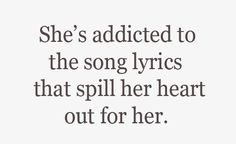 And this is why guys should pay attention to what songs their girls like!!