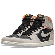 Buy the Air Jordan 1 Retro High OG in Grey, Black, Crimson & White from leading mens fashion retailer END. - only $155. Fast shipping on all latest Nike Jordan products