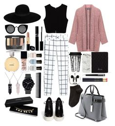 """>Focus on me"" by vitalinav ❤ liked on Polyvore featuring MANGO, Zara, Persona, STELLA McCARTNEY, Michael Kors, Quay, Maison Michel, PhunkeeTree, Chanel and NARS Cosmetics"