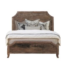 'cosmo' Antique Acacia Wood Bed
