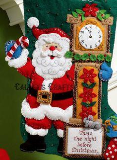Bucilla Twas The Night 18 Christmas Stocking Kit