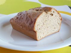 Simple and Fluffy Gluten-Free Low-Carb Bread - Low-Carb, So Simple!- almond butter, whey protein and eggs