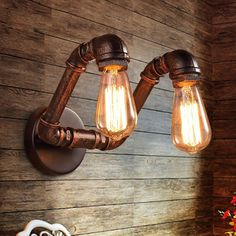 Find More Wall Lamps Information about Retro industrial loft pipe wall light sconces lamp Ac90 220v Edison bulb vintage home lighting fixtures for bar livingroom ,High Quality fixture store,China light bulb fixture Suppliers, Cheap lighting television from JL household lighting on Aliexpress.com