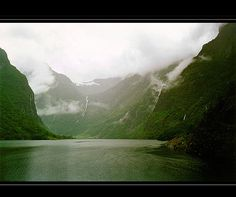 Norway : in the blur of rain by Cyrille Clément, via Flickr