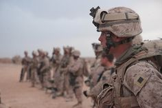 Marines prepare for patrol by United States Marine Corps Official Page, via Flickr