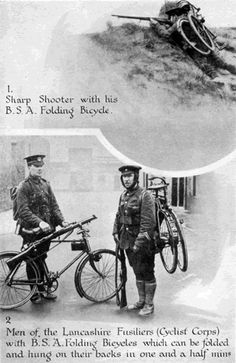 WW1 BSA Folding Bicycle