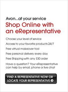 Avon... you can shop online at my web store at www.youravon.com/pamwagner