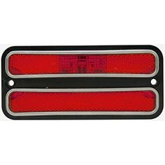 2 1968  1972 Chevy Truck Red LED Clearance Side Marker Lights  1969 70 71 >>> Want additional info? Click on the affiliate link Amazon.com on image.