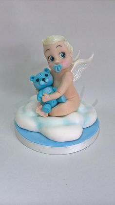 Baby Cake Topper - Cake Duchess Baby Challenge Collaboration by Linze Clark